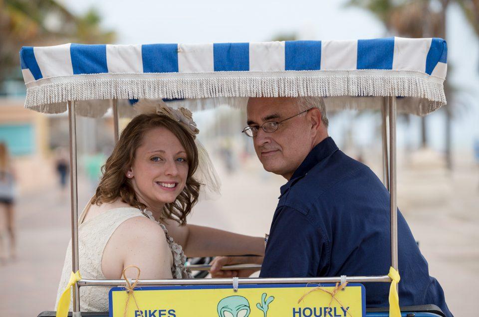 Heidi & Allan: Wedding Photography in Hollywood Beach, Fl