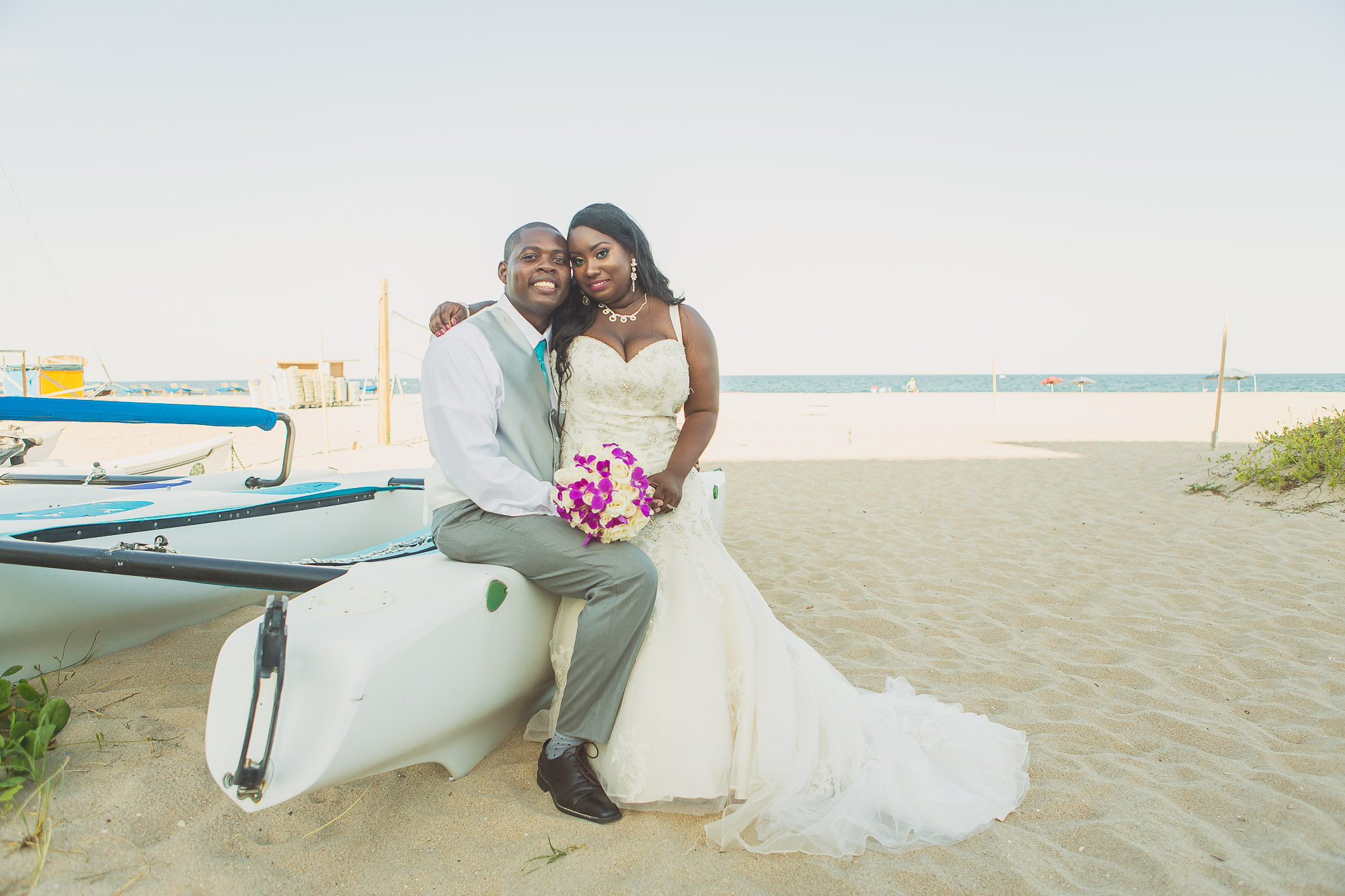 Cheron & Wilson: Destination Wedding at Pompano Beach, Fl