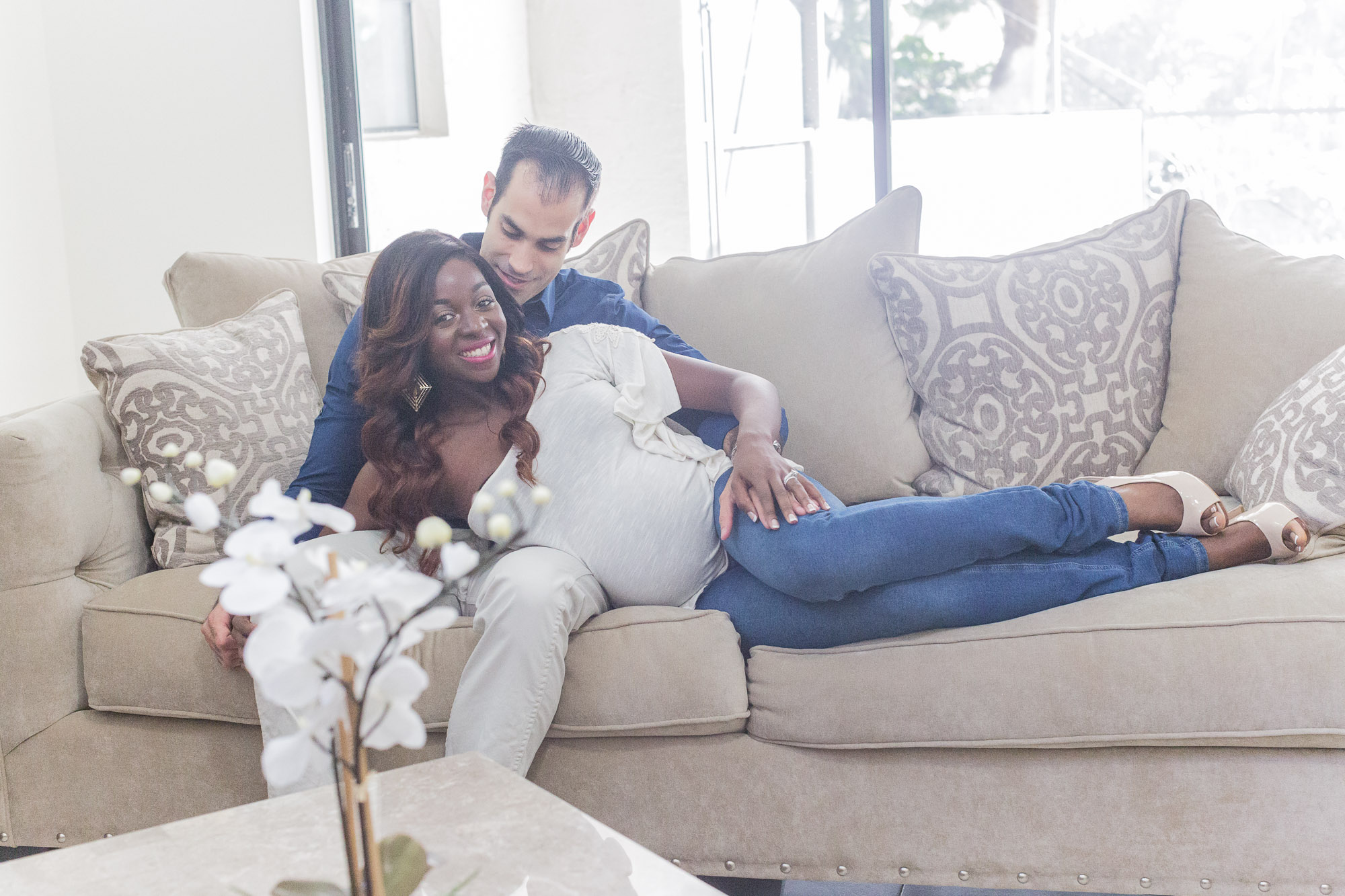Atou: Pregnancy Photography Shoot at Coral Springs, Fl