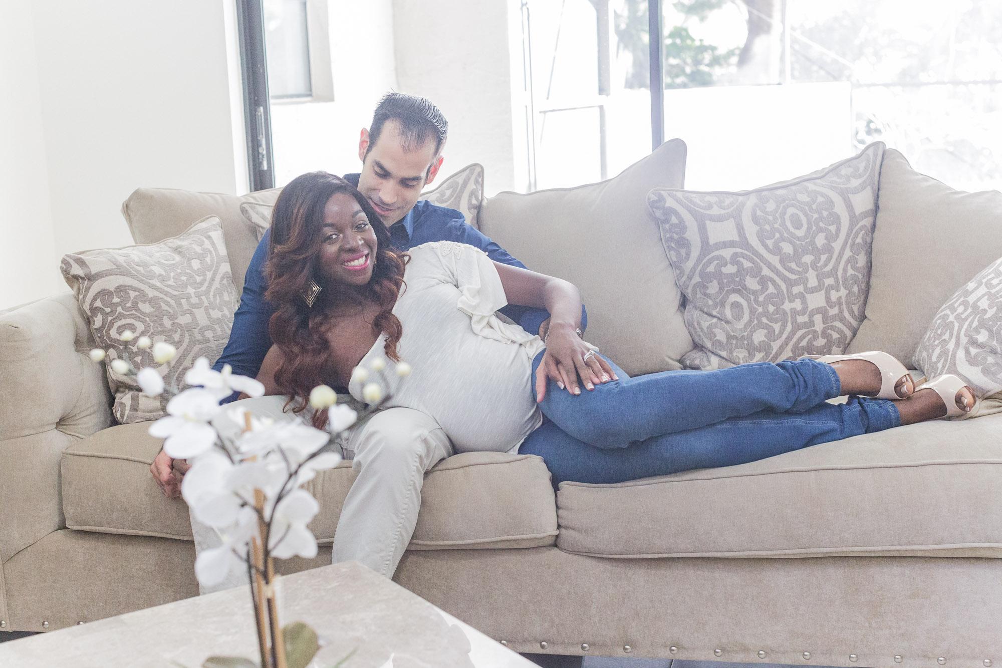 Atou: Pregnancy Photography Shoot at Coral Springs, Fl