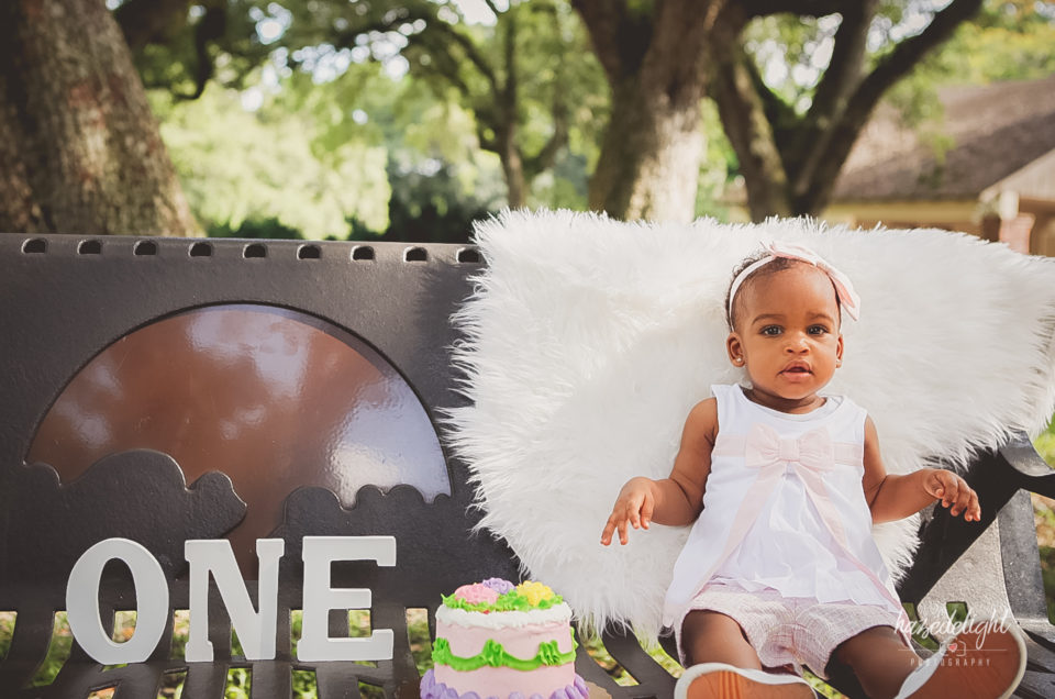 Victoria: 1 Year Old Birthday Photo Session at Robbins Preserve, Davie Fl
