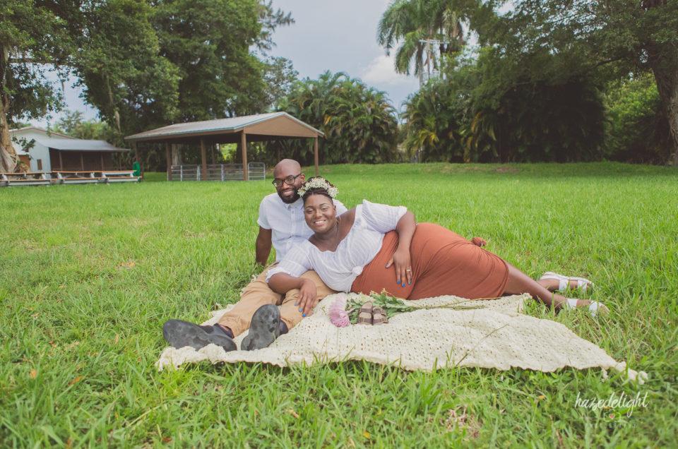 Stania: Pregnancy Photo Session, Old Davie School, Davie, FL