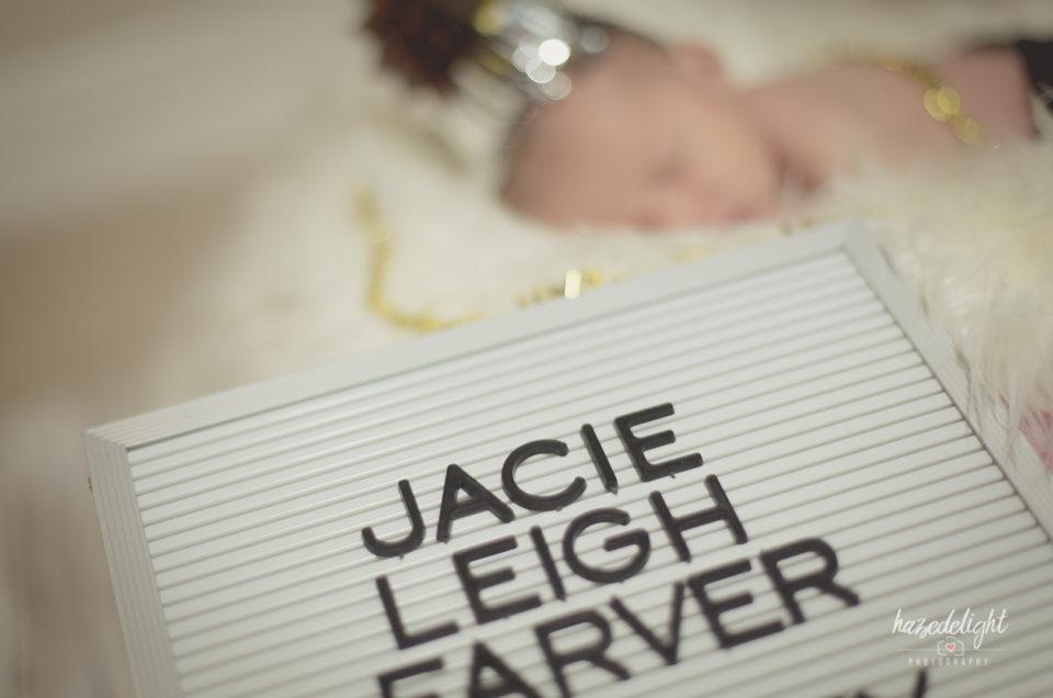 Jacie Leigh: A Newborn Photography in Davie, FL
